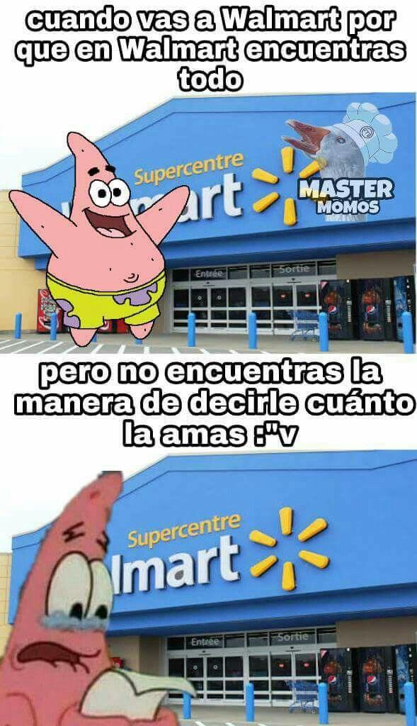 No todo hay en Walmart