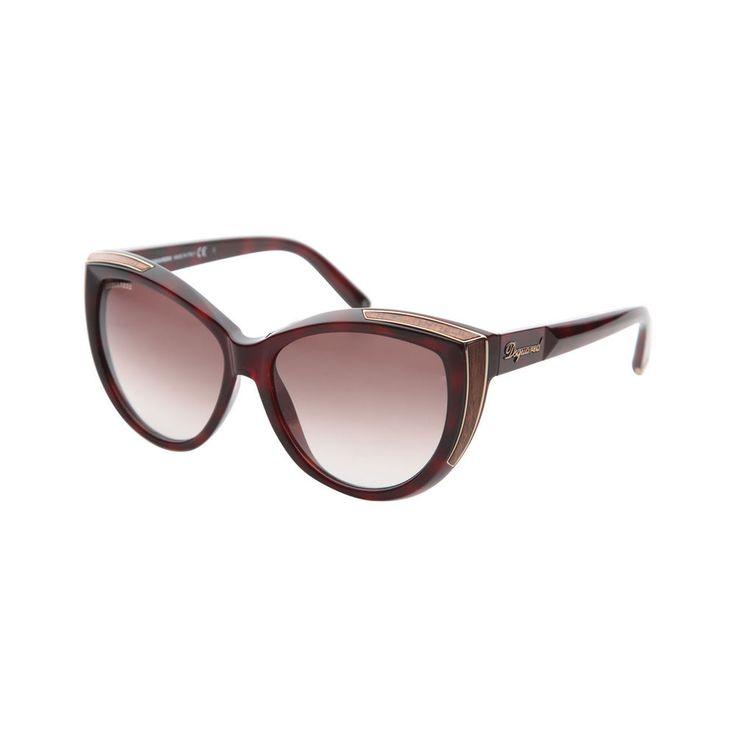 lunettes de soleil DSQUARED Femme brun Dsquared2 sunglasses