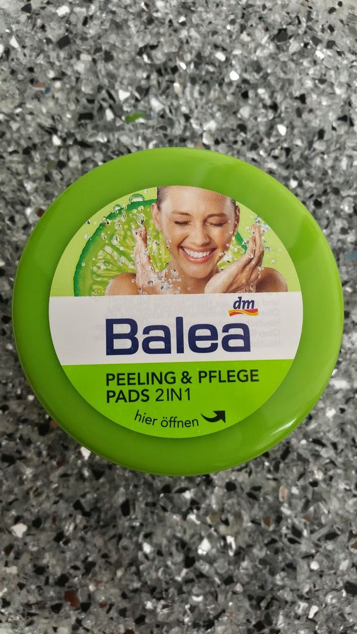 Balea - Peeling Pads Annitschkasblog