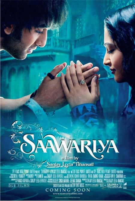 Saawariya.  Holy worst bollywood movie ever.  The set and feel is great, however.  Just SUPER cheesy!!!