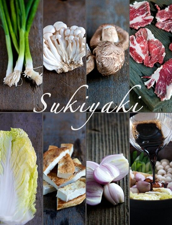 Recipes for pork sukiyaki cut