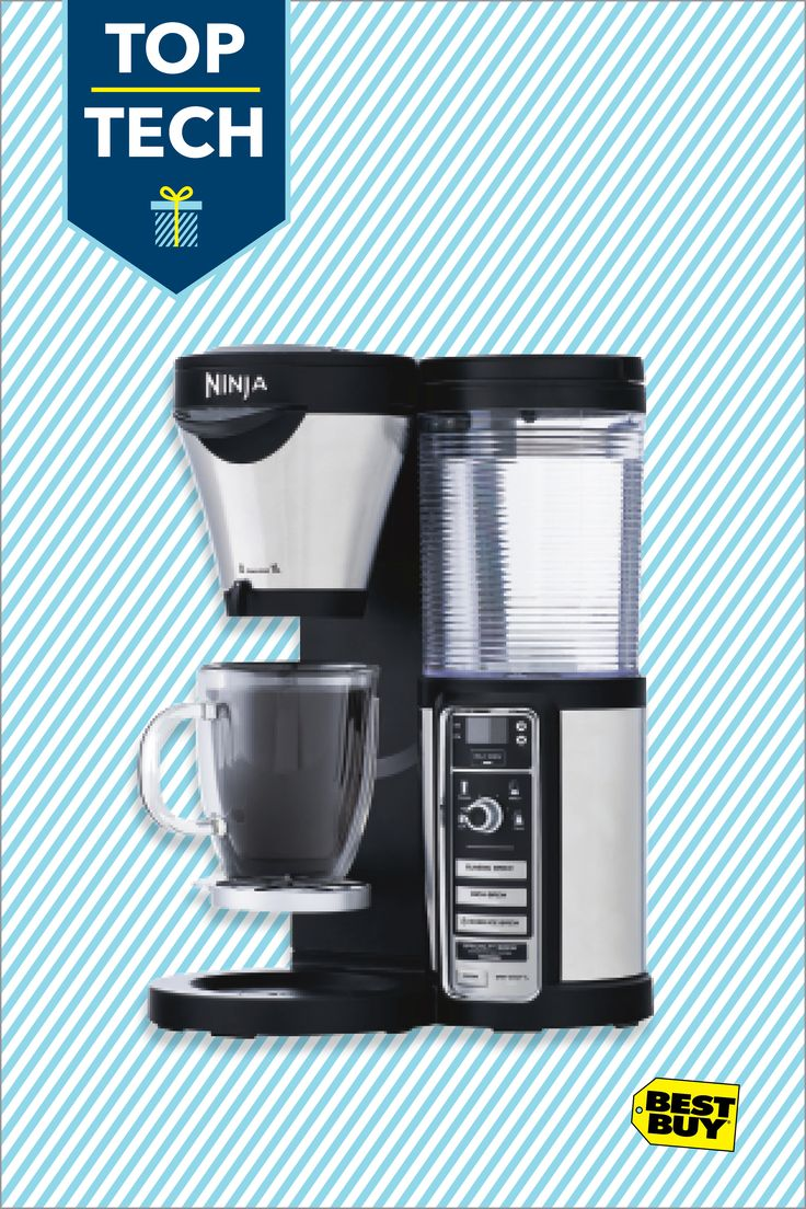 Ninja Coffee Bar Brewer with Thermal Carafe: With Thermal Flavor Extraction technology and Auto-iQ One Touch Intelligence controls, this coffeemaker lets you transform your countertop into a deluxe coffee bar. Brew a single serving of your favorite blend, or make a variety of specialty drinks using the Ninja Easy Frother.