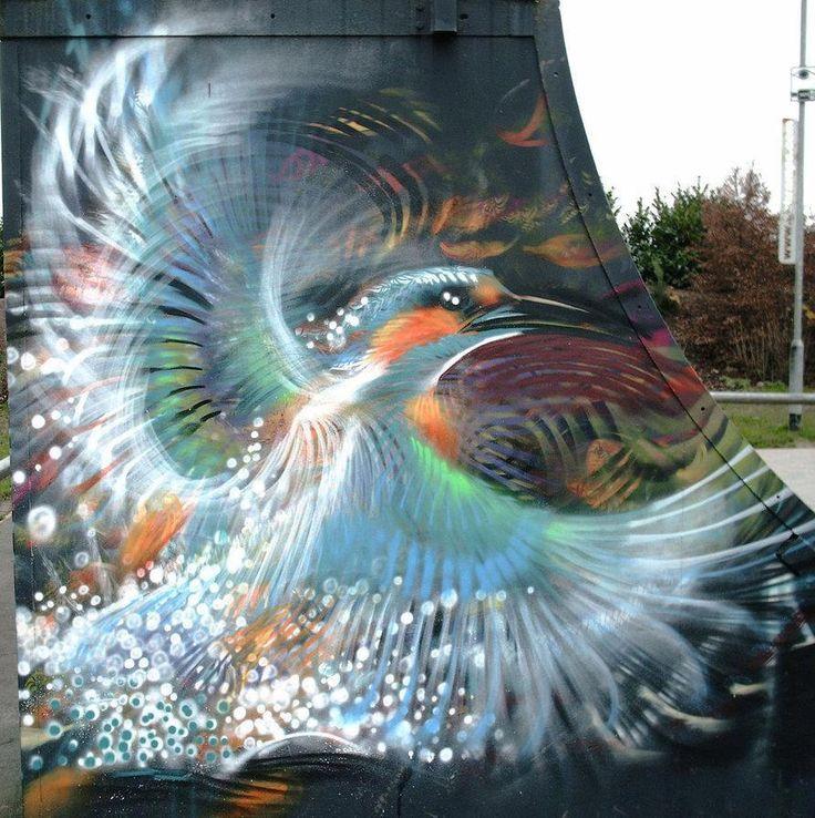 Bird by ~n4t4 - At Jubilee Skate Park, UK