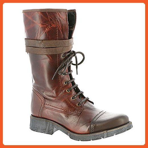 Bernie Mev FM Combat Women's Boot 36 M EU Cognac - Boots for women (*Amazon Partner-Link)