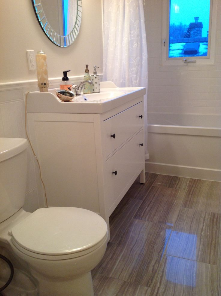 33 best images about bathroom on pinterest blue tiles - Vanities for small bathrooms ikea ...