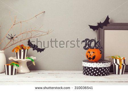 Halloween website header design with copy space