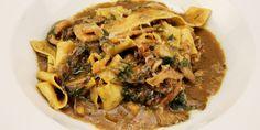 Papardelle Funghi Pasta from Top Chef Canada Chef Nicole Gomes