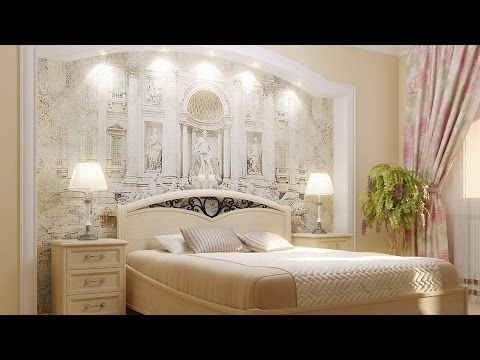 Фрески в интерьере спальни – идеи дизайна