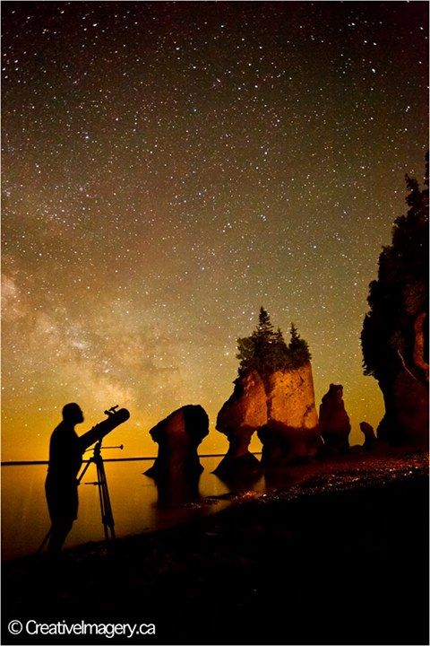 Rochers Hopewell Rocks | Magnifique photographie naturelle du Nouveau-Brunswick, Canada | Photo : Kevin Snair / Facebook