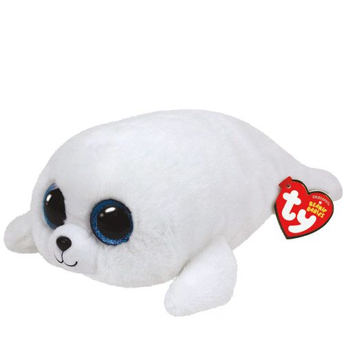 Peluche TY Beanie Boos Icy le phoque taille moyenne
