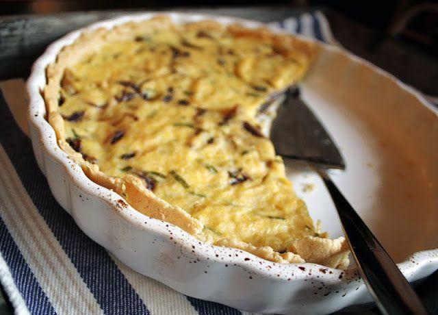 Veganmisjonen: Pai med rødløk og sjampinjong (hvordan lage pai ut...