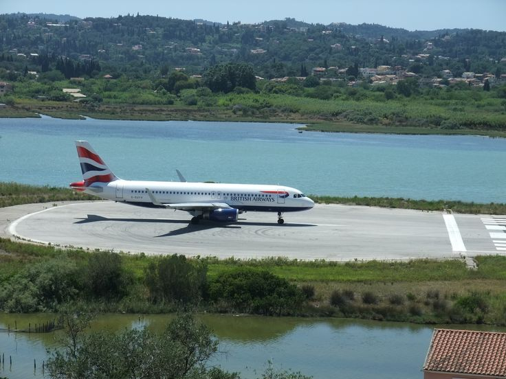 Greece. Corfu. Runway.