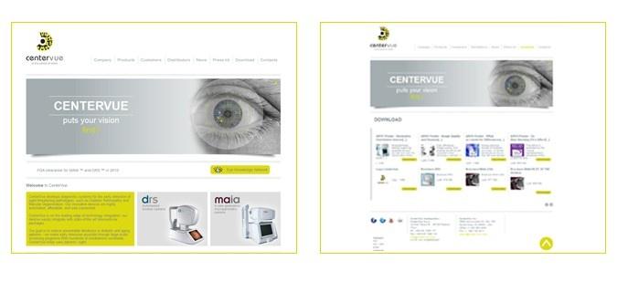 VITTORIA SMANIA - CENTERVUE - strumenti medicali per la cura degli occhi - sito internet