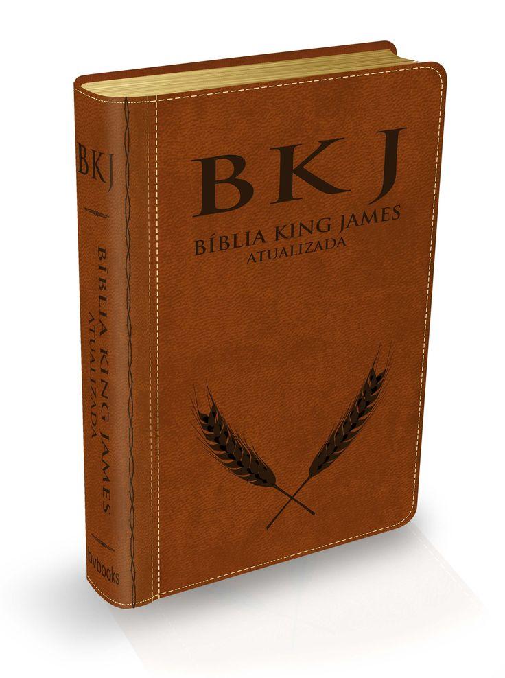 Bíblia King James Atualizada - Luxo Marrom