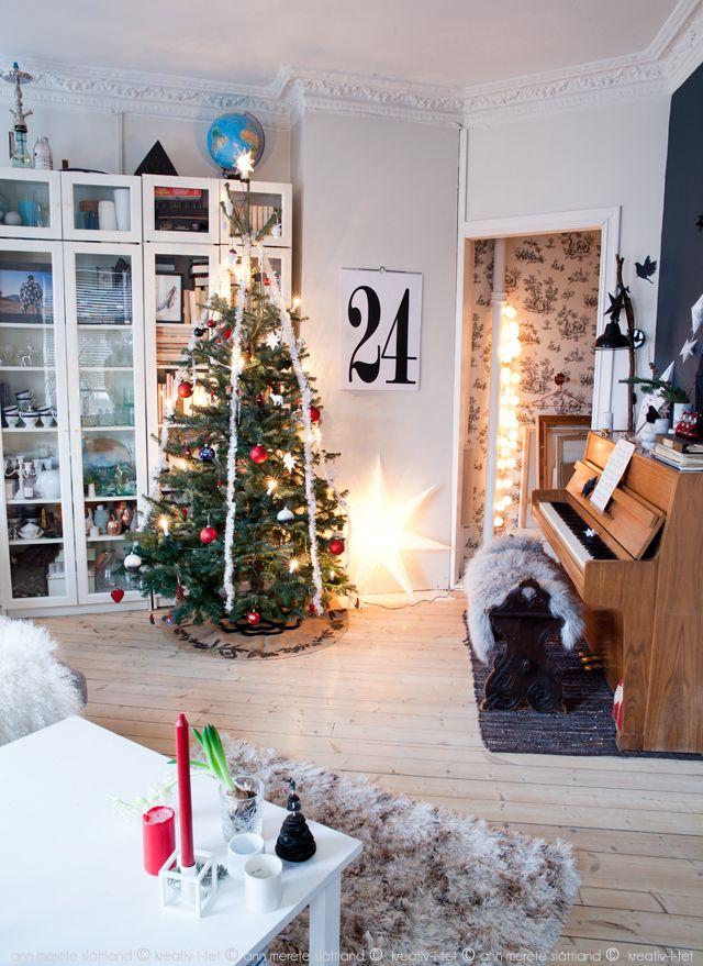 Christmas in our livingroom - Kreativ-i-tet interior blog