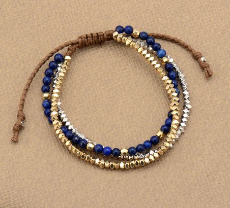 Guadeloupe Boho Layered Bracelet