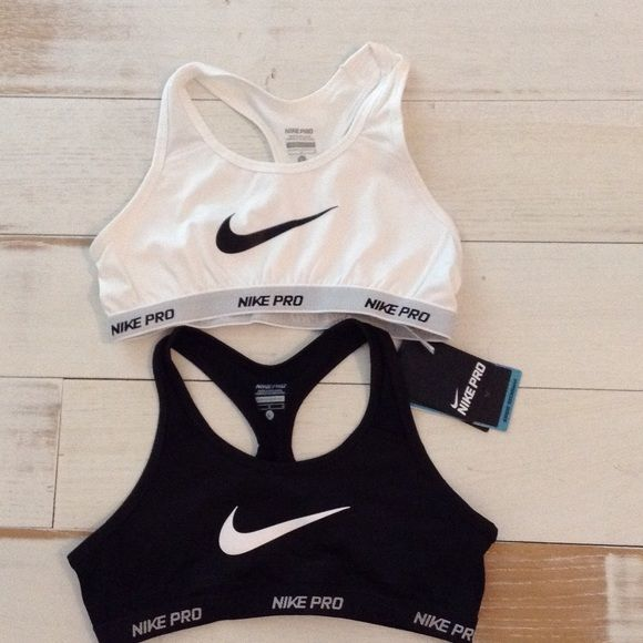 Nike pro sports bras Brand new These are a kids large can fit a woman's small Nike Intimates & Sleepwear Bras