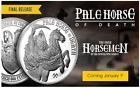 PALE HORSE OF DEATH - FOUR HORSEMEN OF THE APOCALYPSE 1 OZ SILVER ROUND IN HAND Order Now! #fourhorsemen #deathhorse #paledeath