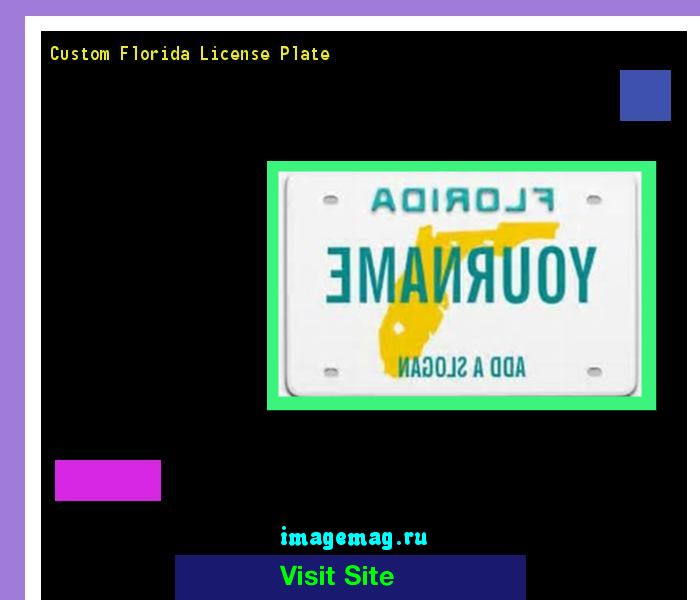 Custom florida license plate 163010 - The Best Image Search