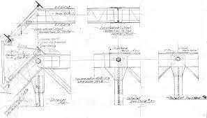 ผลการค้นหารูปภาพสำหรับ drawing section truss detail
