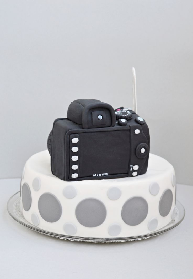 Camera cake | Flickr - Photo Sharing!