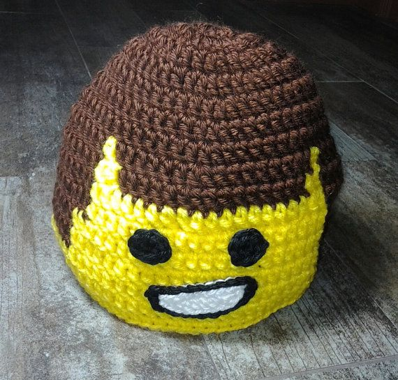 Hey, I found this really awesome Etsy listing at https://www.etsy.com/listing/205734056/crochet-emmet-lego-movie-inspired-hat