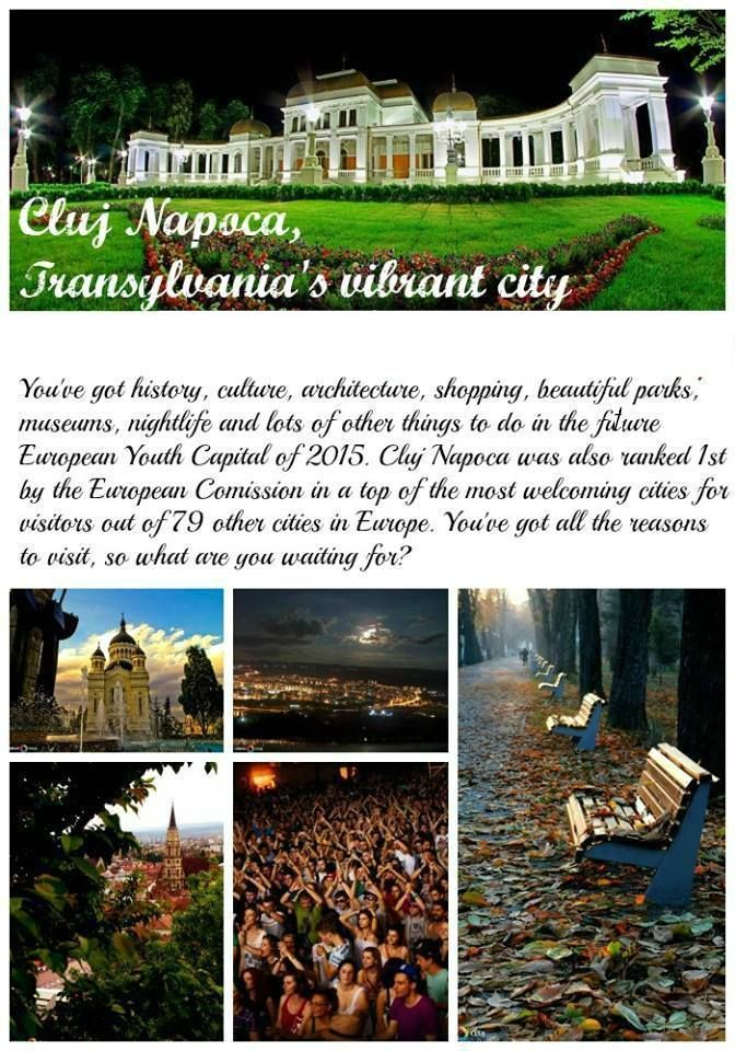 Cluj Napoca - the capital city of Transylvania