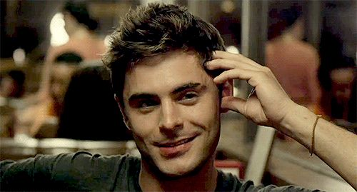 Celebrity Imagines — Imagine: Going on a date with Zac and he looks at...