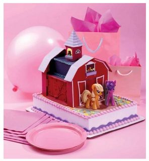 my little pony barn cake at walmart | Toy images - My Little Pony Friendship is Magic Wiki
