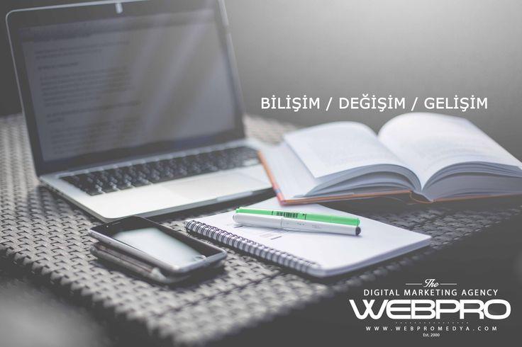 #Bilişim, #Değişim, #Gelişim Yenilikçi yaklaşımlarla ve yeni teknolojilerin olanaklarını kullanarak, müşterilerimiz için yeni değerler yaratıyoruz. Detaylı bilgi için www.webpromedya.com'u ziyaret edebilirsiniz.
