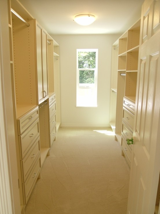 His And Hers Walk In Closet Behind Closed Doors Pinterest