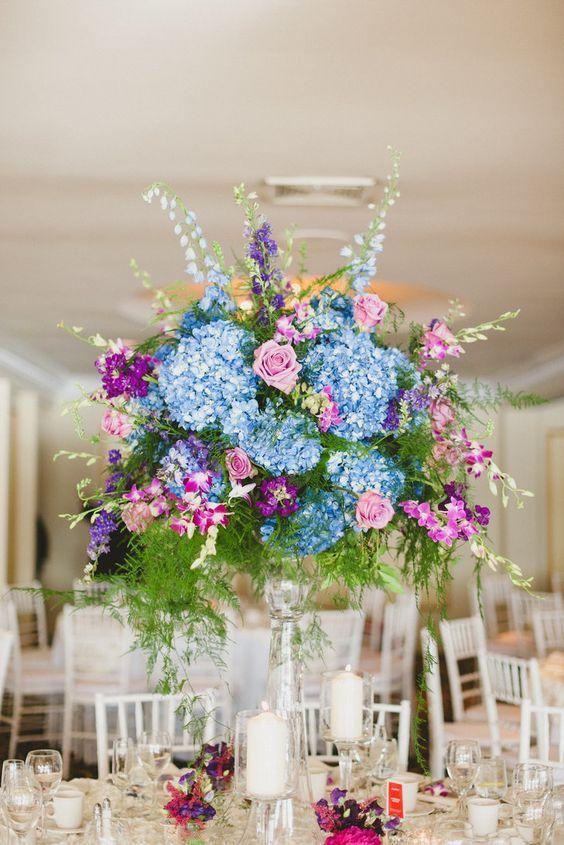 Ideas about blue centerpieces on pinterest royal