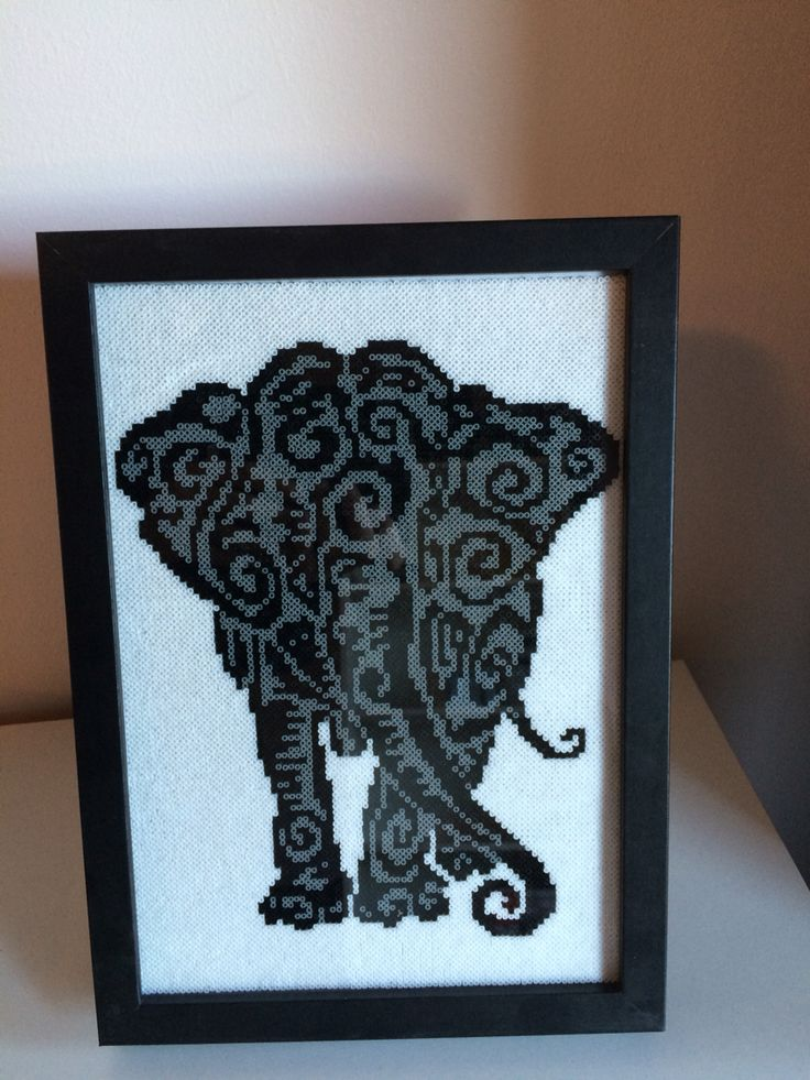Elefant, mini hama