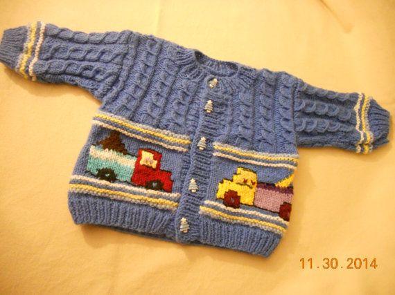 baby boy sweatherbaby boy jacketfancy cardigan for by knittingsem