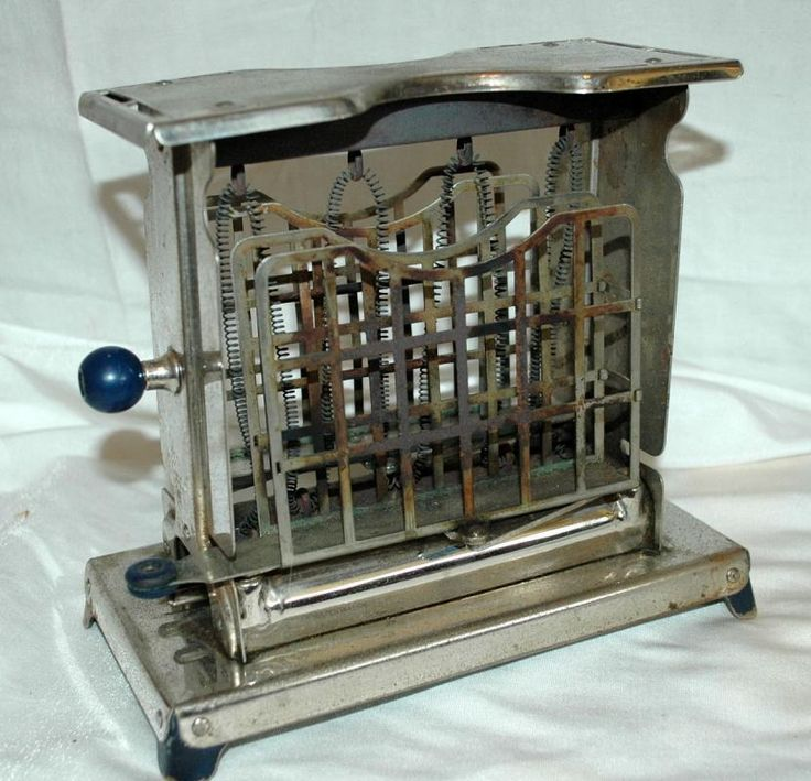 Rare Vintage Antique ELECTREX Toaster Swing Doors ...