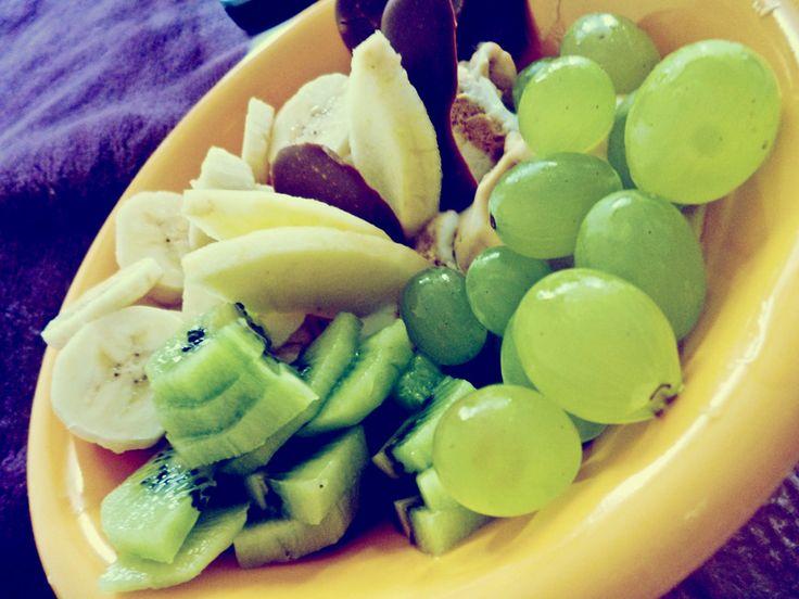 coś na ząb ;) owoce z lodami