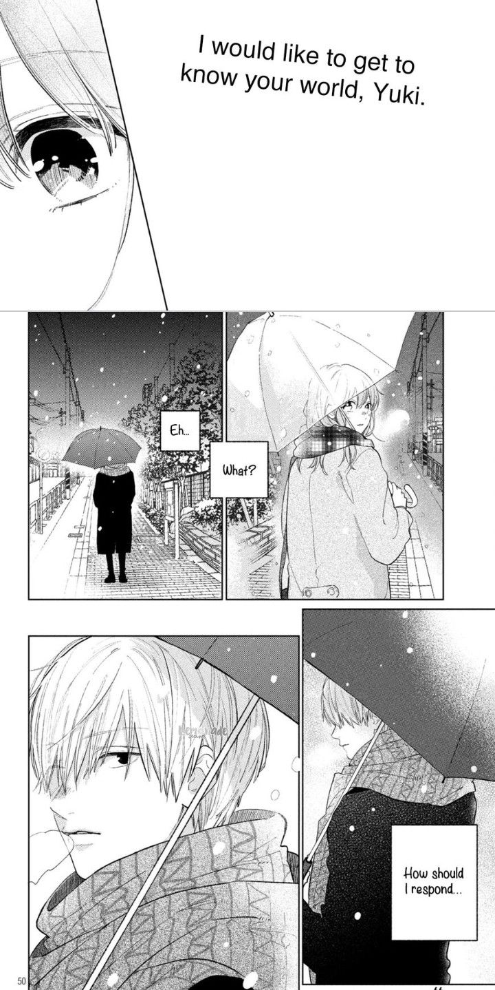 Yubisaki To Renren anime manga couple boy girl guy