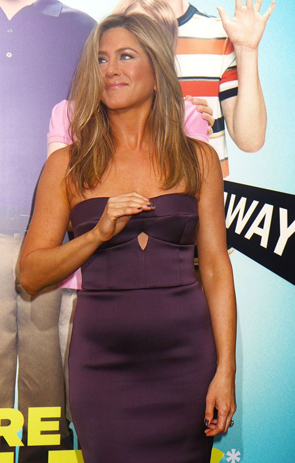 Is Jennifer Aniston pregnant? Yes. Yes she is.