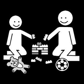 Pictogram: play together