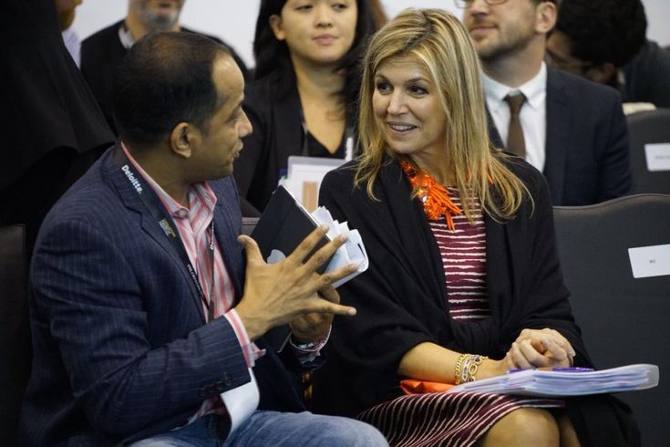 Queen Máxima in her role as UN Advocate for Inclusive Financial Services gave a speech at the FinTech Festival in Singapore