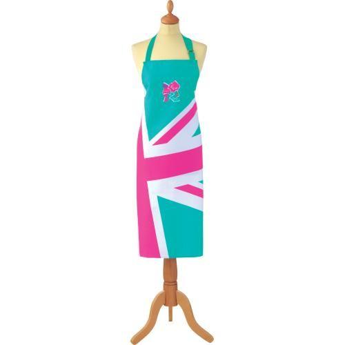 - イギリス雑貨と紅茶とハーブティーのお店 English Specialities ロンドンパラリンピック ユニオンジャック エプロン