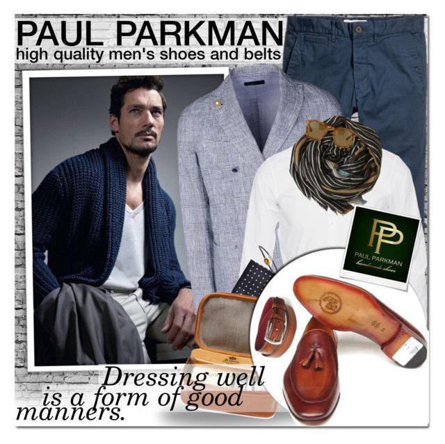 """PAUL PARKMAN - Dress well!"" by anita-n ❤ liked on Polyvore featuring Lardini, Dsquared2, David Yurman, BOSS Black, Alden, Épice, Dries Van Noten and Polaroid"