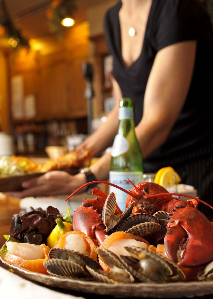 If you're vacationing on New Brunswick's Acadian Coast you've got to try a seafood platter at one of the local restaurants, like this one at Nectar in Bathurst.
