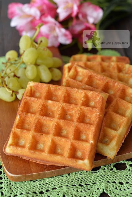Bake for Happy Kids: Easy Pour-Mix-and-Cook Buttermilk Waffles (can be ...