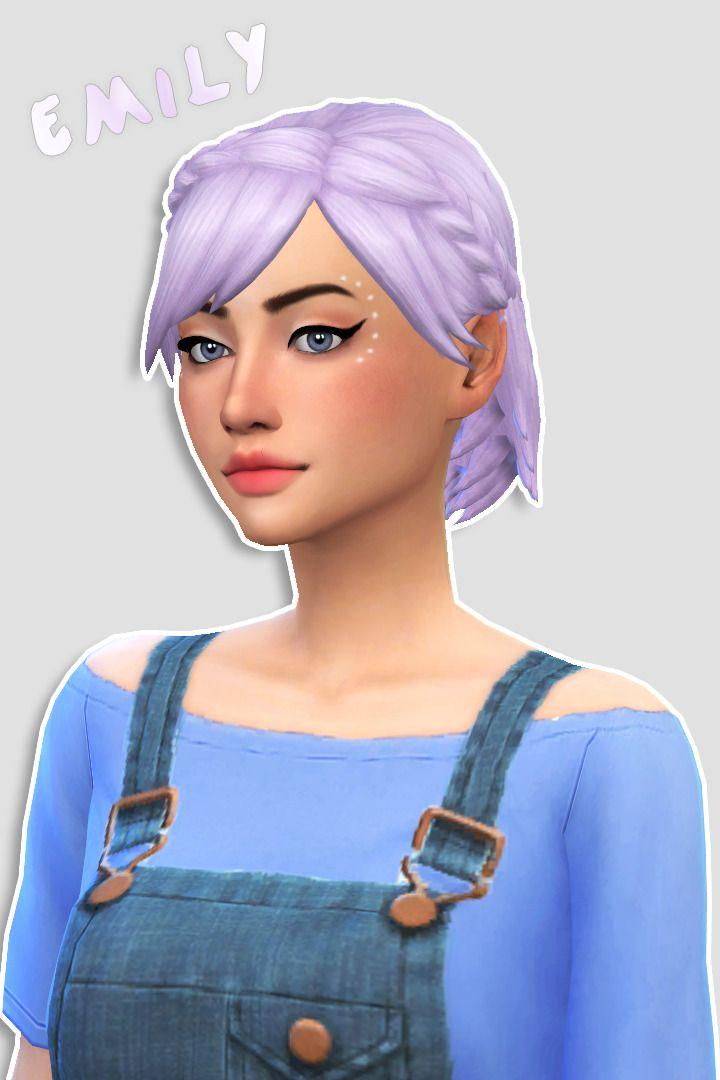 69 Best Sims 4 CC Hair Images On Pinterest