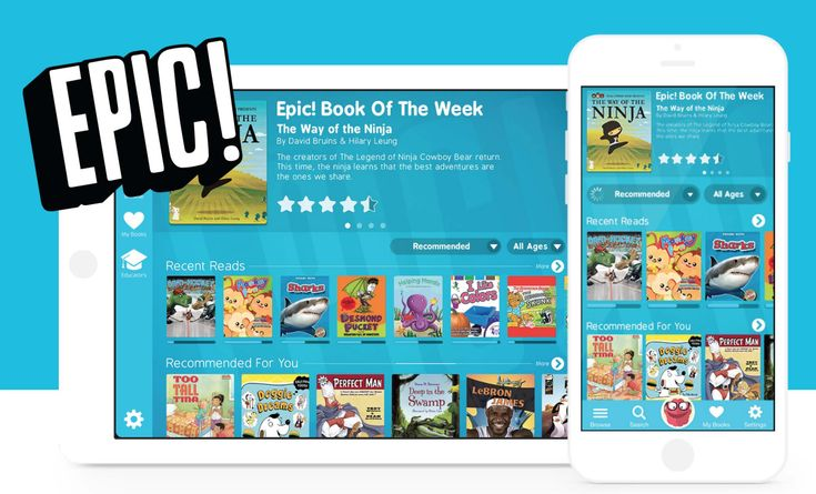 EPIC App - FREE Books For iPads