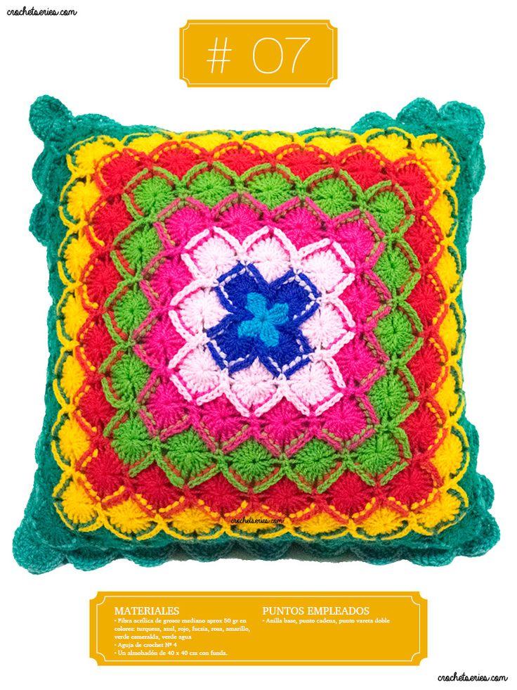 Crochet Almohadones #07