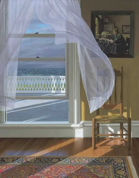 "De Edward Gordon  "" wind from the sea "" ©    (  peintre americain  )"