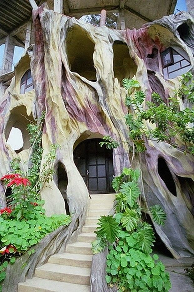 15 Strange and Unusual Homes you have never seen | Incredible Pictures  Gaudi style house