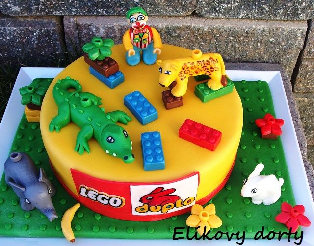 Lego Duplo Cake My Cakes Cake Lego Birthday A Birthday Cake